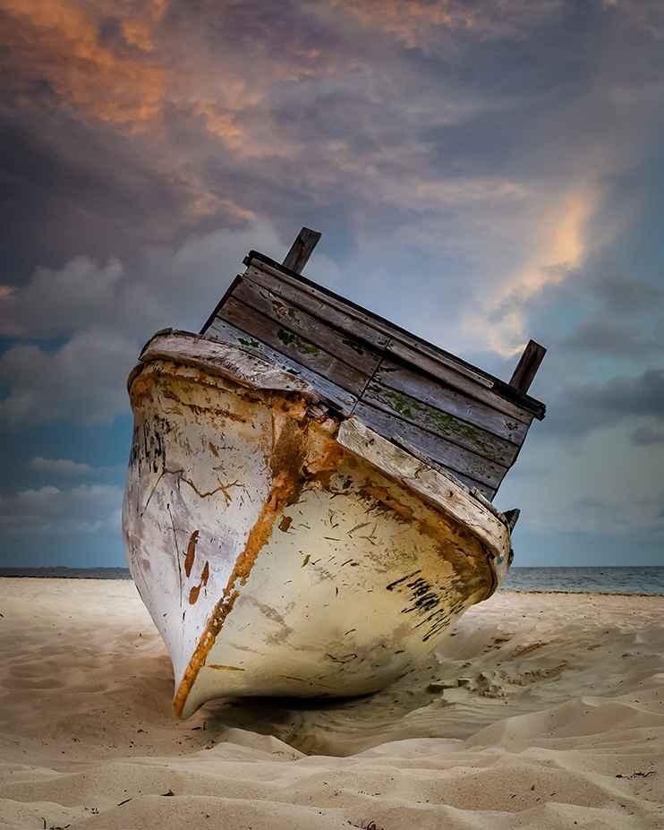 Shipwrecked represented  by  Jeffrey Halpern
