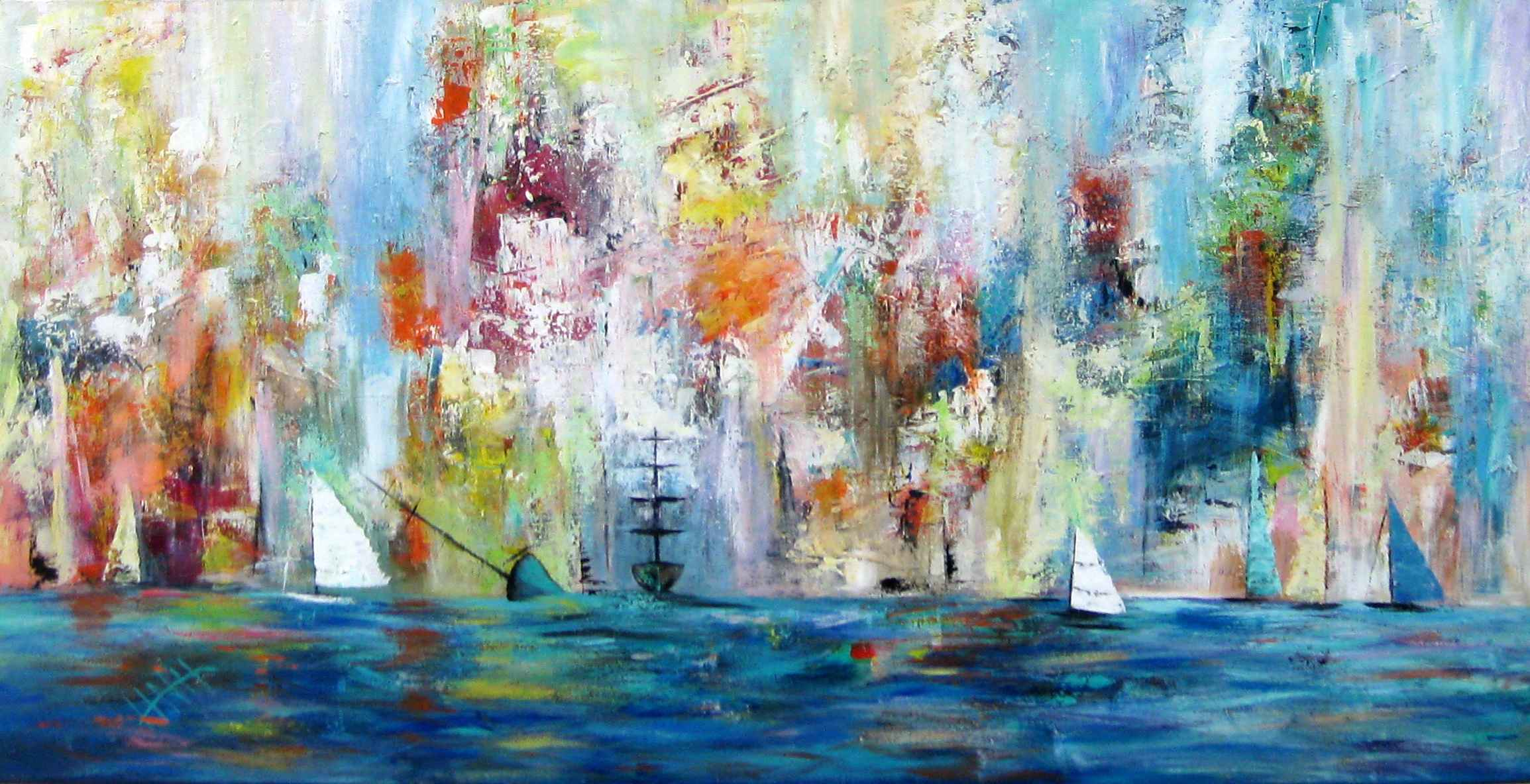 257 Sailing In The Ha... by Mr Nicholas Hadeed - Masterpiece Online