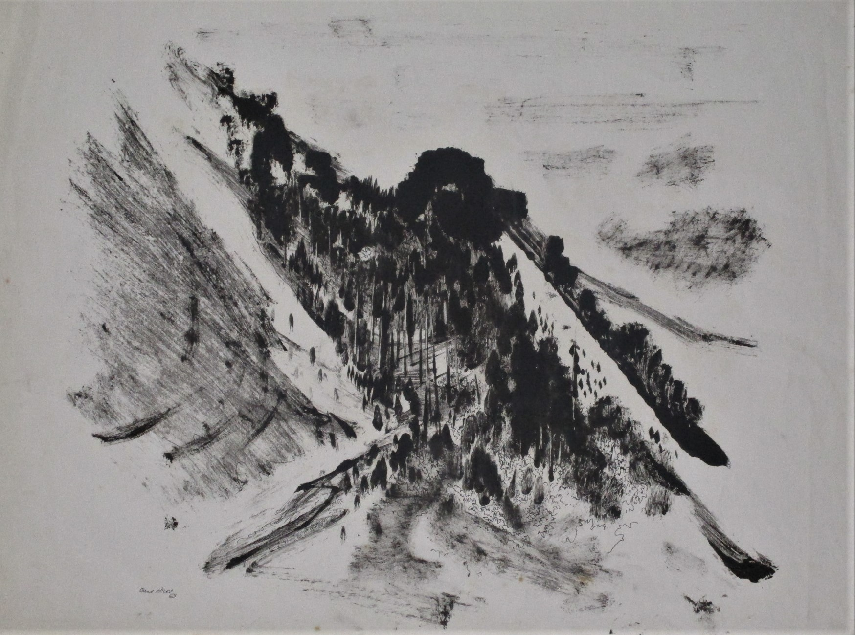 Unknown (mountain) by  Carl Hall - Masterpiece Online