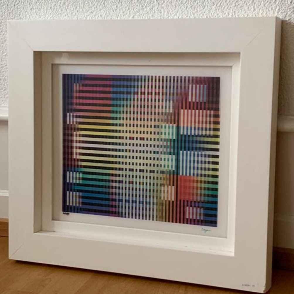 Checker by  Yaacov Agam - Masterpiece Online