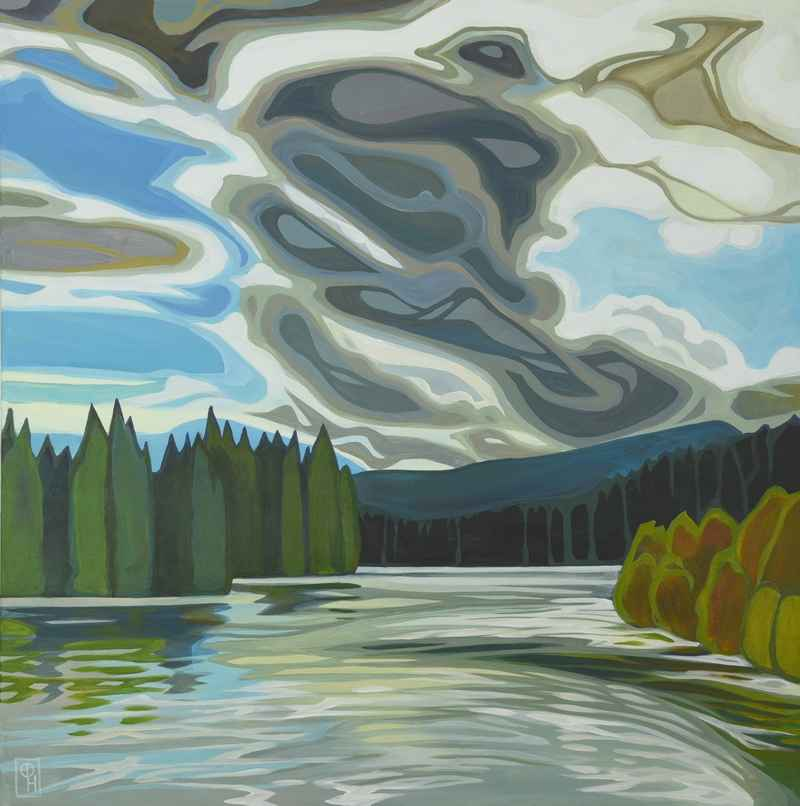 Sky River by  Erica Hawkes - Masterpiece Online