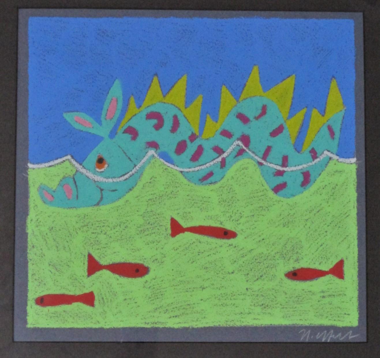 Untitled (sea monster) by  Nancy Coffelt - Masterpiece Online