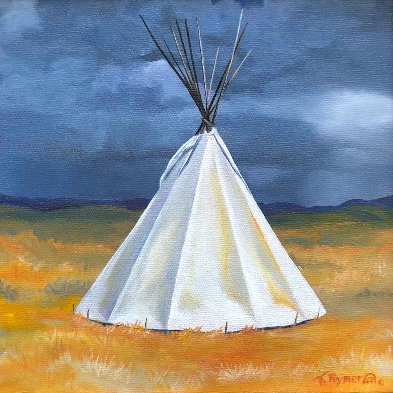 They Camped by Taos by  Tamara Rymer - Masterpiece Online