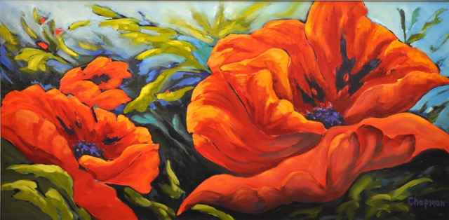 Breezy Days by  Sandra Chapman - Masterpiece Online