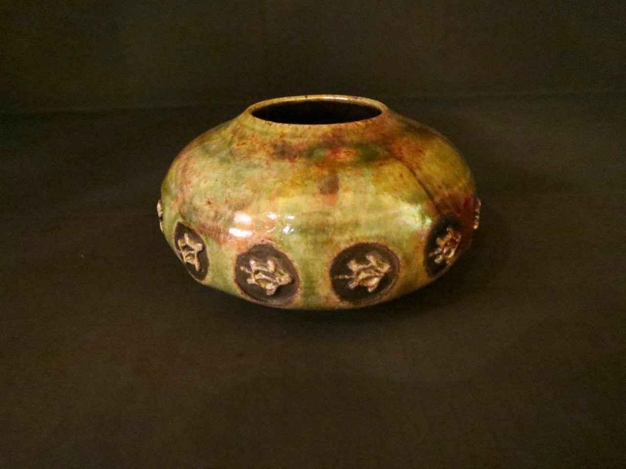 Raku Small Honu Petro... by Ms. Birgitta Frazier - Masterpiece Online