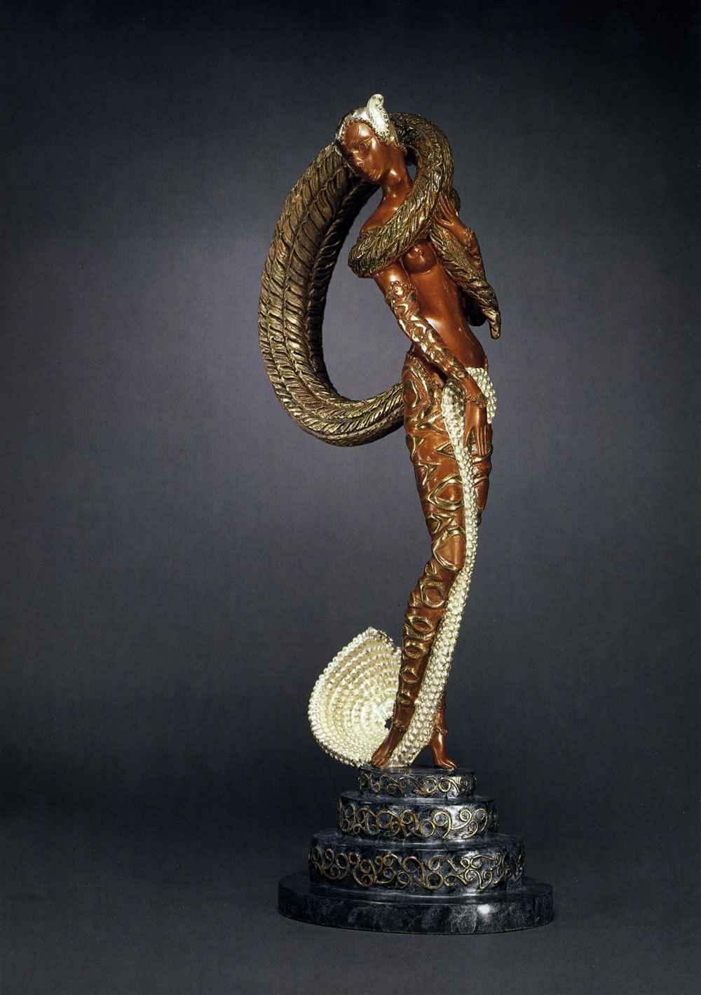 Masquerade - Bronze... by   Erte - Masterpiece Online
