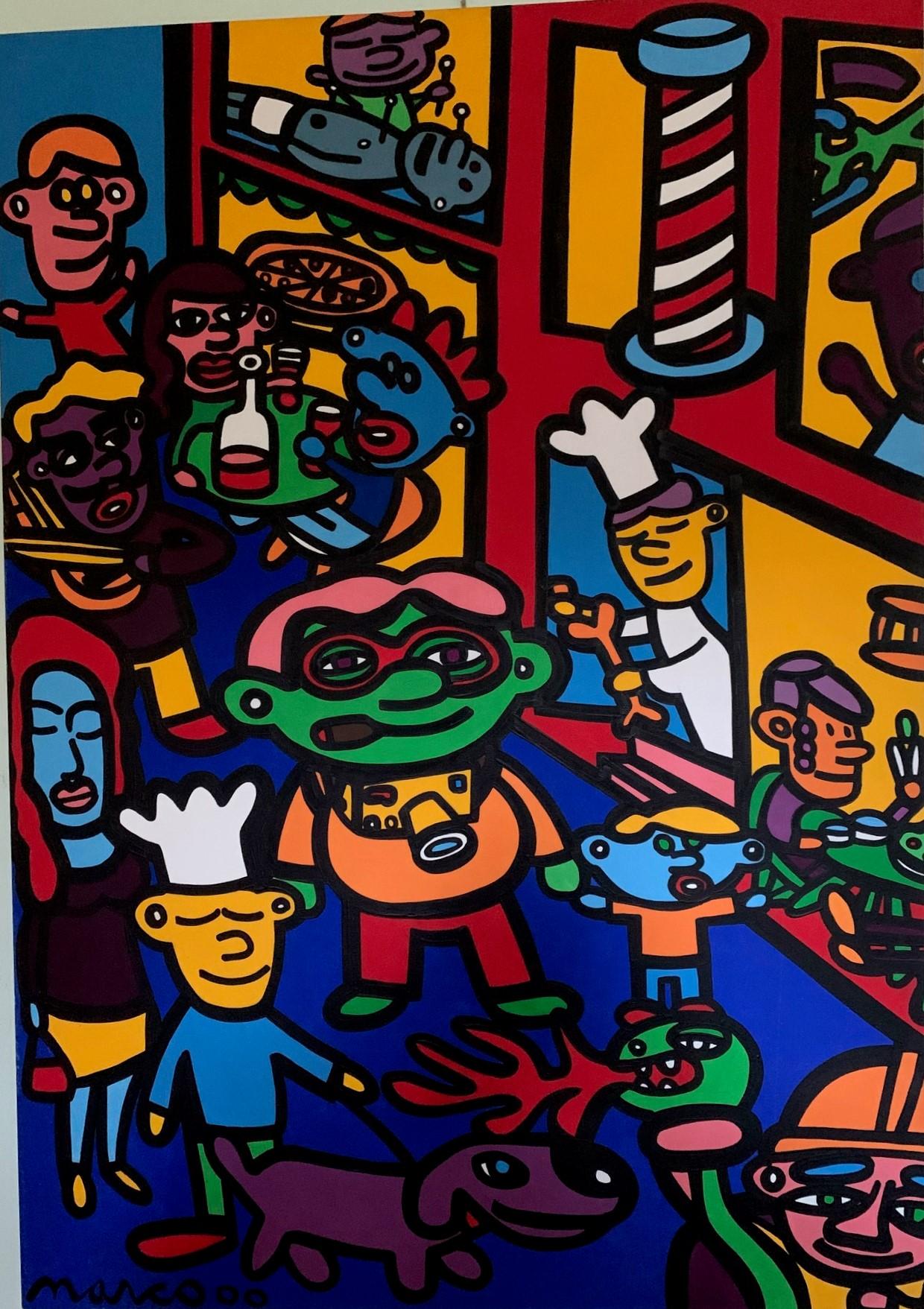 Untitled (Pop Art) by   Marco - Masterpiece Online