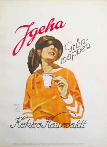 Hohlwein Jgeha Kakao ... by  Ludwig Hohlwein - Masterpiece Online