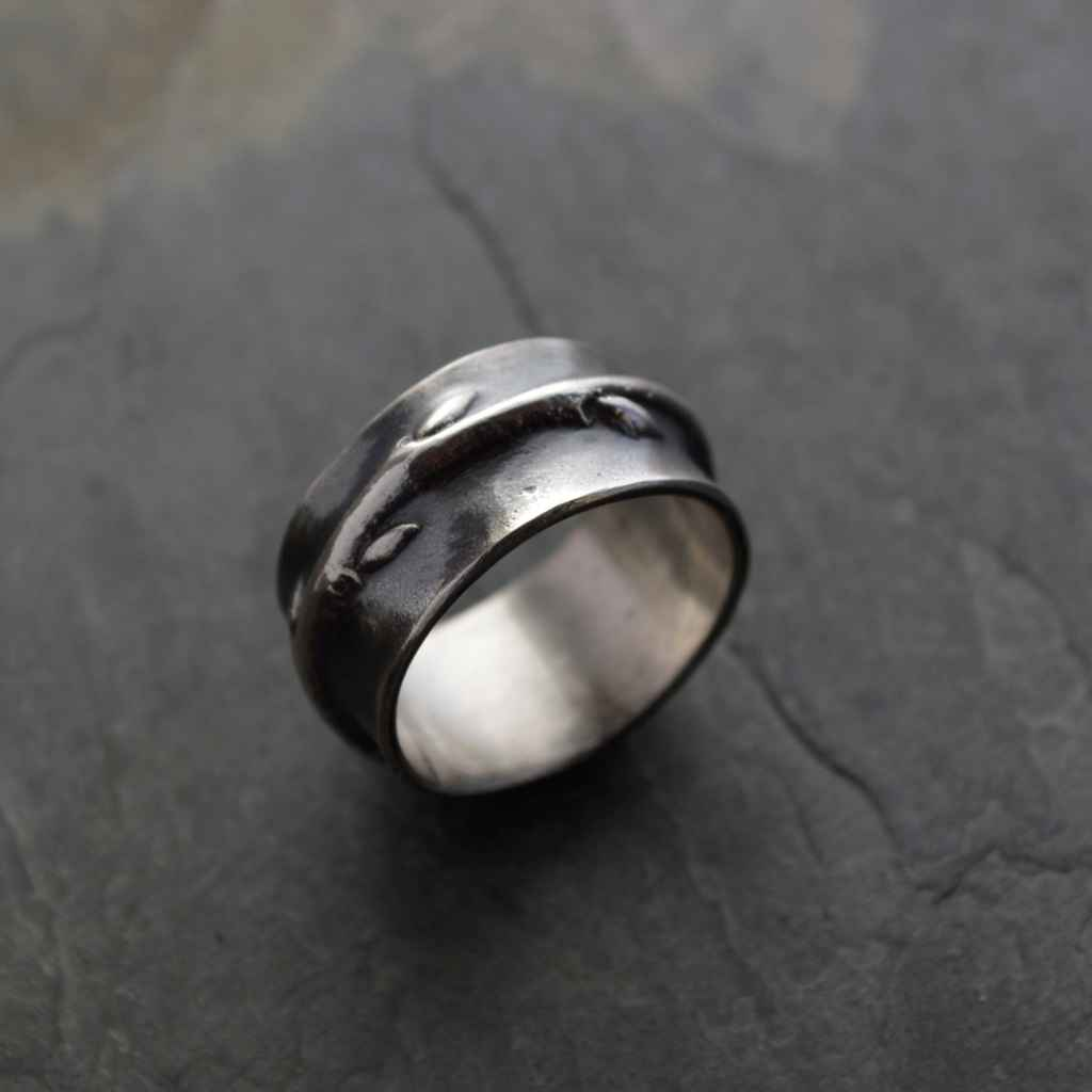 Redbud Twig Ring - RB...  by   Artisan Jewelry