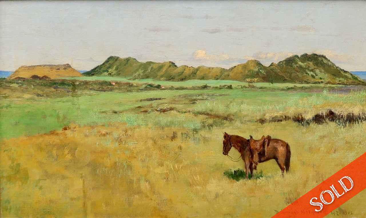 Puna Landscape by  D. Howard Hitchcock (1861-1943) - Masterpiece Online
