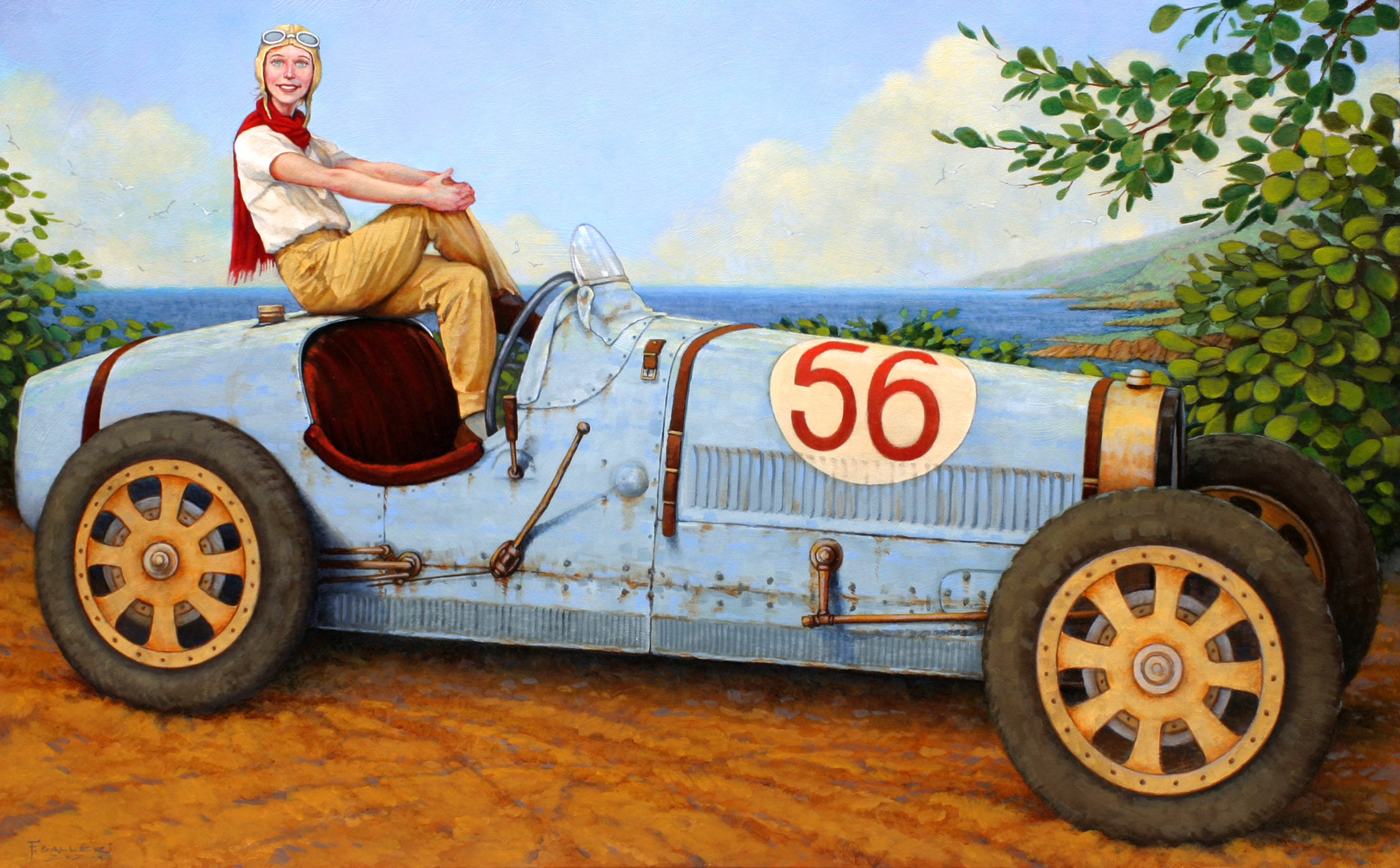 Shifting Gears by Mr. Fred Calleri - Masterpiece Online