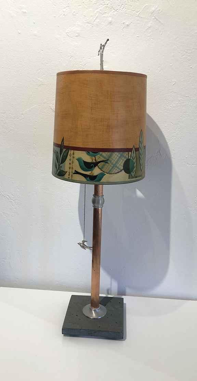 New Capri Spice Table Lamp, Giclee Shade
