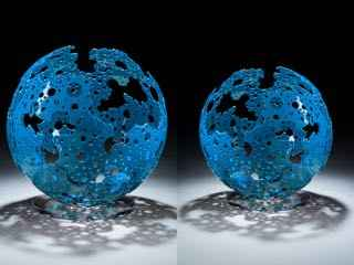 Blue Shadow Sphere (S... by  Michael Enn Sirvet - Masterpiece Online