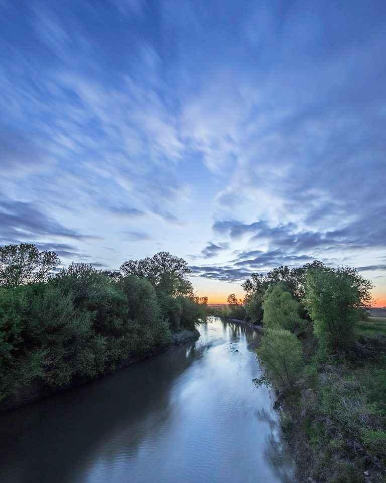 Smoky Hill River Dusk by  George Jerkovich - Masterpiece Online