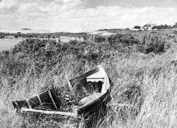 Wrecked boat, Menemsh... by  Alfred Eisenstaedt - Masterpiece Online