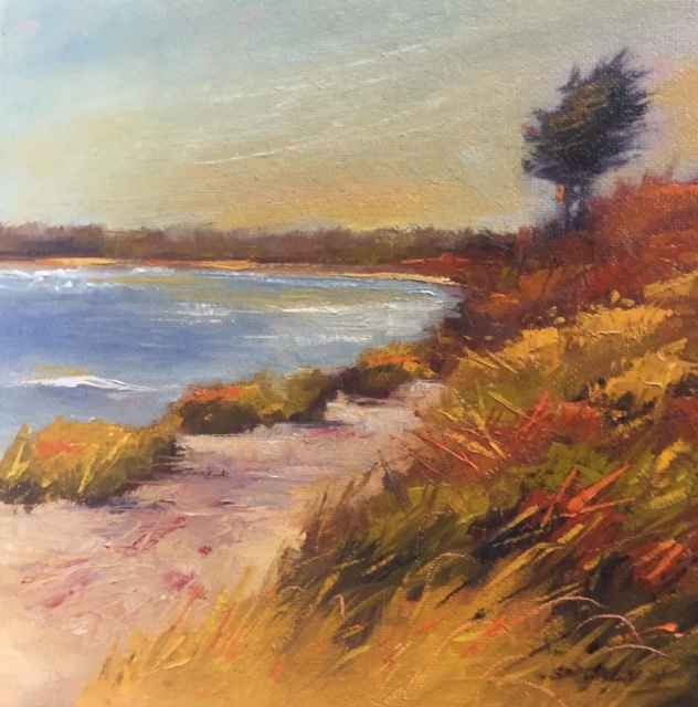 Fall Wind by  Sharon McCann Daly - Masterpiece Online