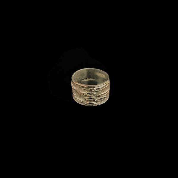 Birch Bark Medium Ring - Size 11