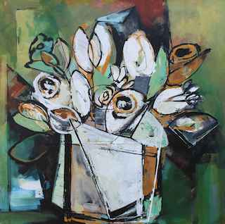 Spring Pot I by  Katie Leahul - Masterpiece Online