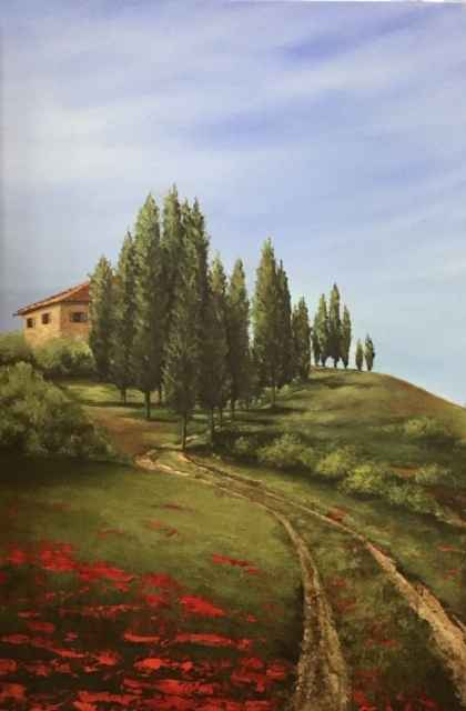 Tuscan Road Home by  Janet Liesemer - Masterpiece Online