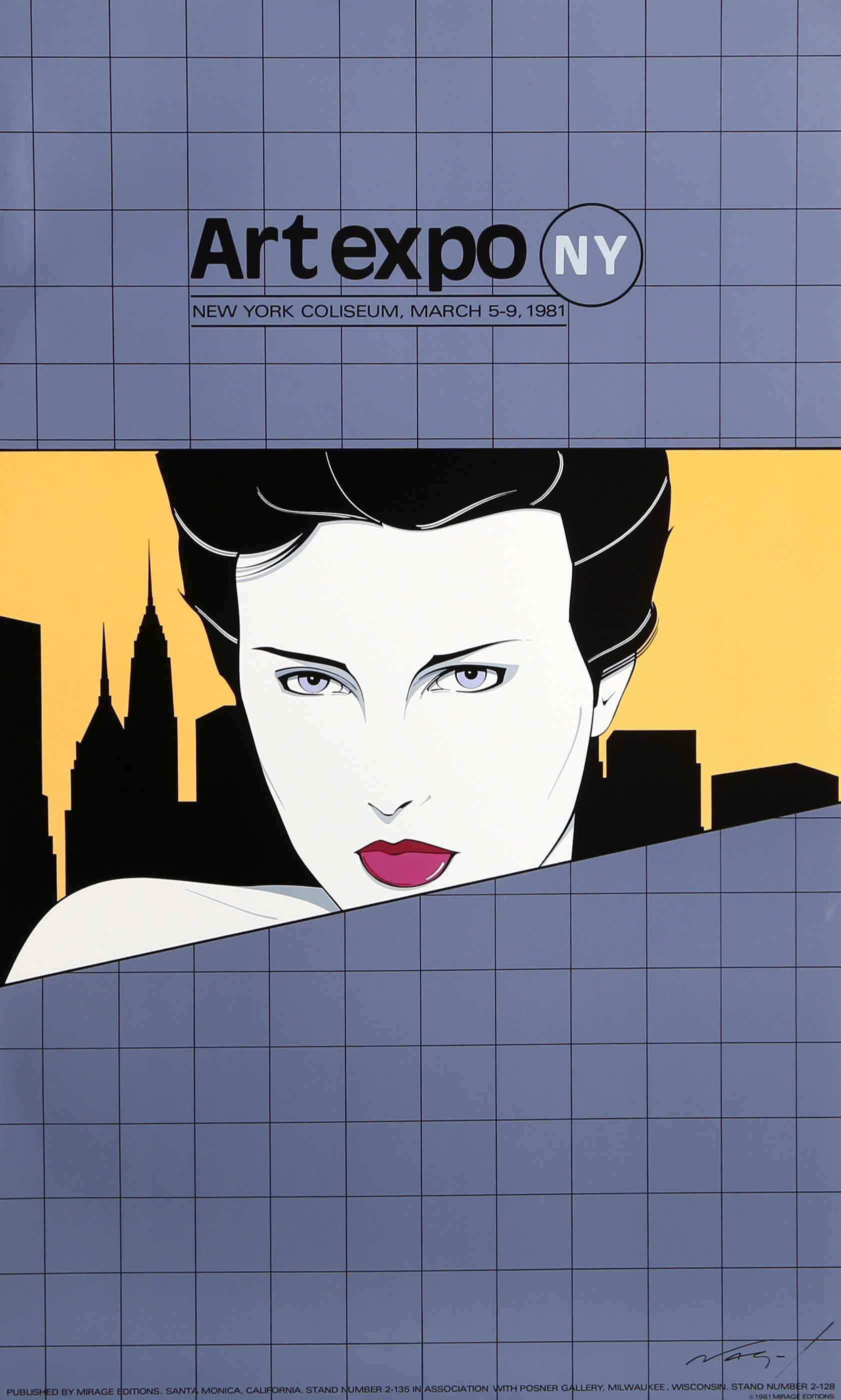 Art Expo NY Poster by  Patrick Nagel - Masterpiece Online