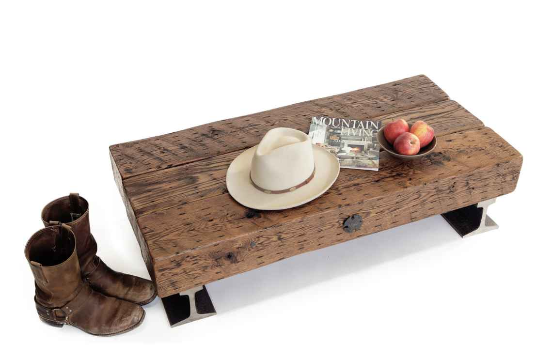 Flatcar Coffee Table by  Robert Hendrick - Masterpiece Online