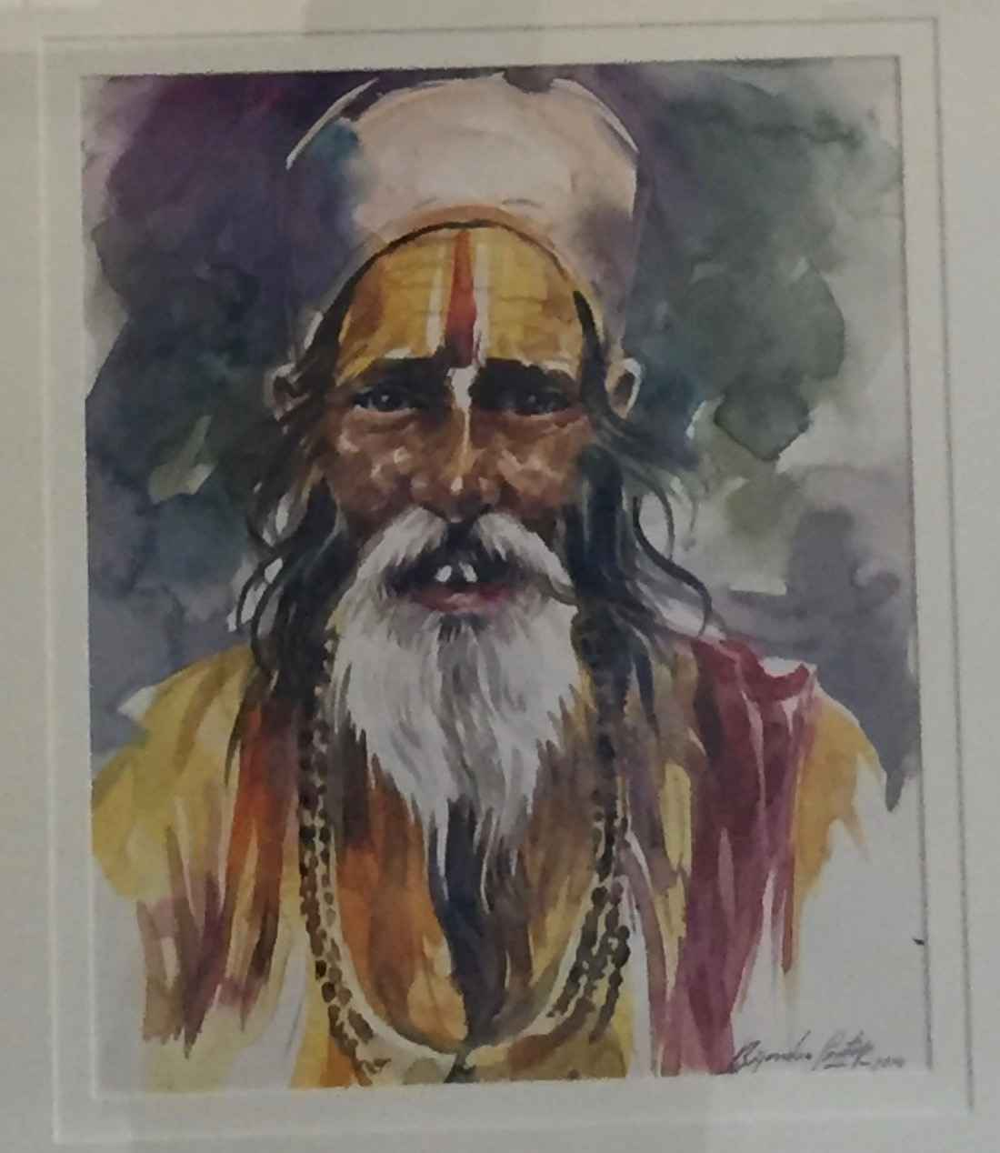 Sadhu Series (in Yell... by  Bijendra Pratap - Masterpiece Online