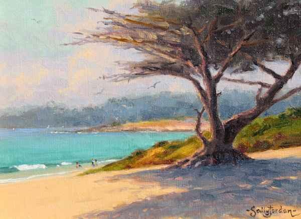 Afternoon Shadows by  Sally  Jordan - Masterpiece Online