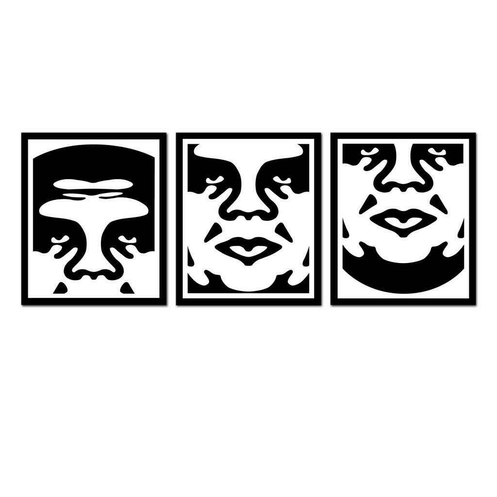 Andre the Giant-Middle by  Shepard Fairey - Masterpiece Online