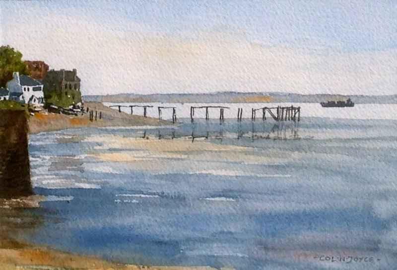 Aberdour Harbour by  Colin Joyce - Masterpiece Online