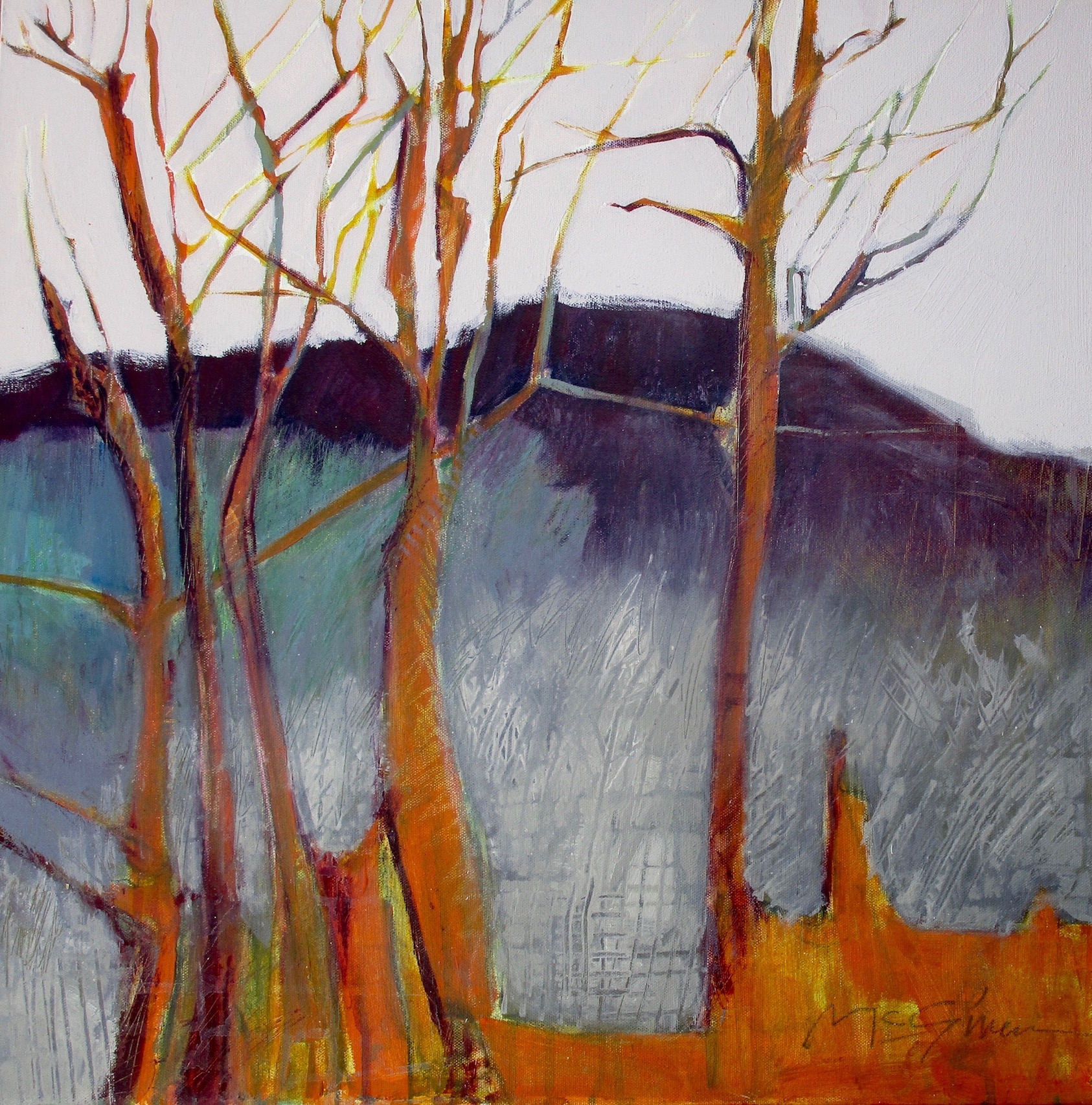 Valley Mist by  Peggy McGivern - Masterpiece Online