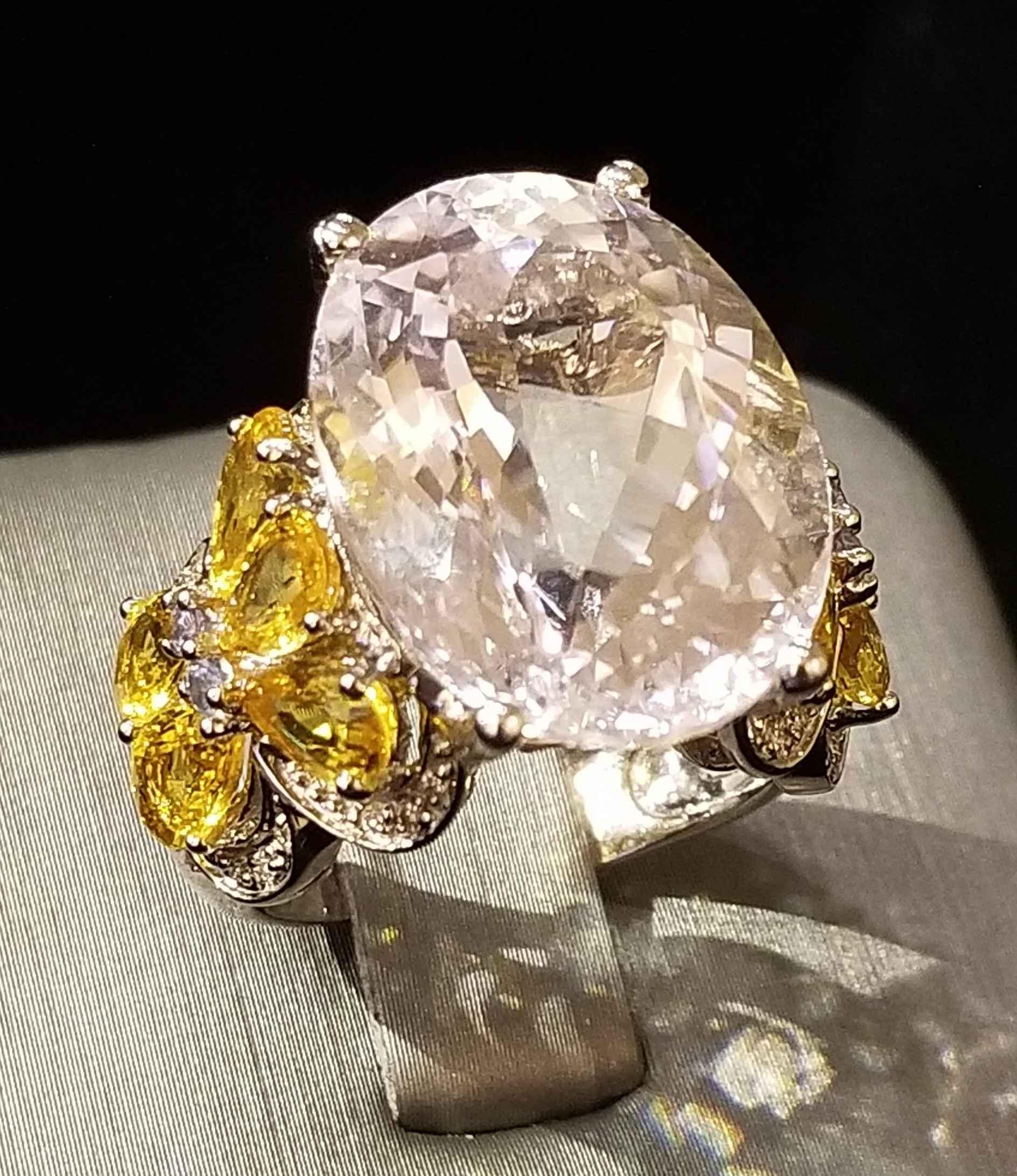 Kunzite - Citrine Rin... by  My Jeweler - Masterpiece Online