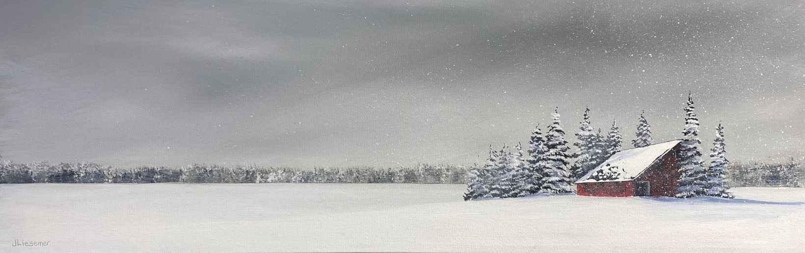 Flurries by  Janet Liesemer - Masterpiece Online