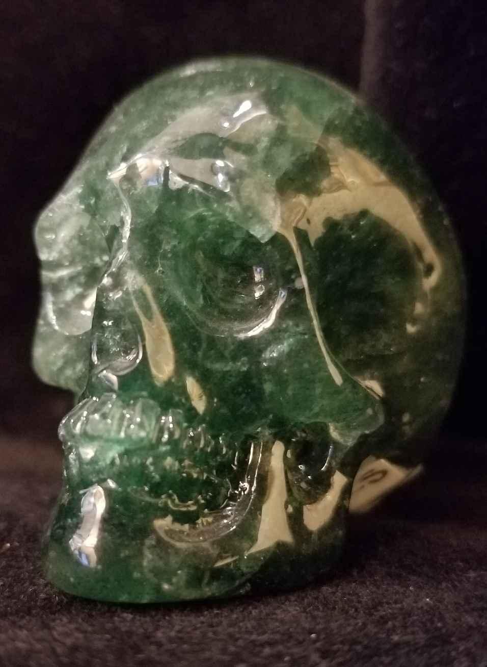 Emerald Quartz Skull by   Starborn - Masterpiece Online