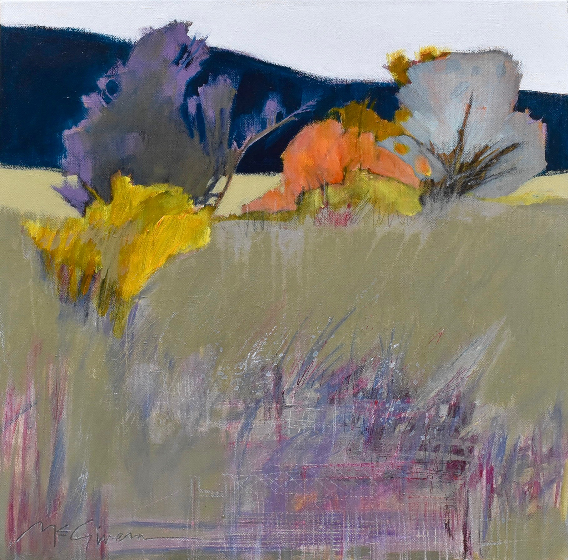 Wild Asparagus by  Peggy McGivern - Masterpiece Online