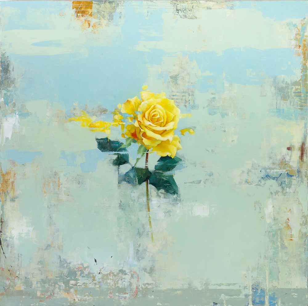 Yellow Rose  by  Byron Gin