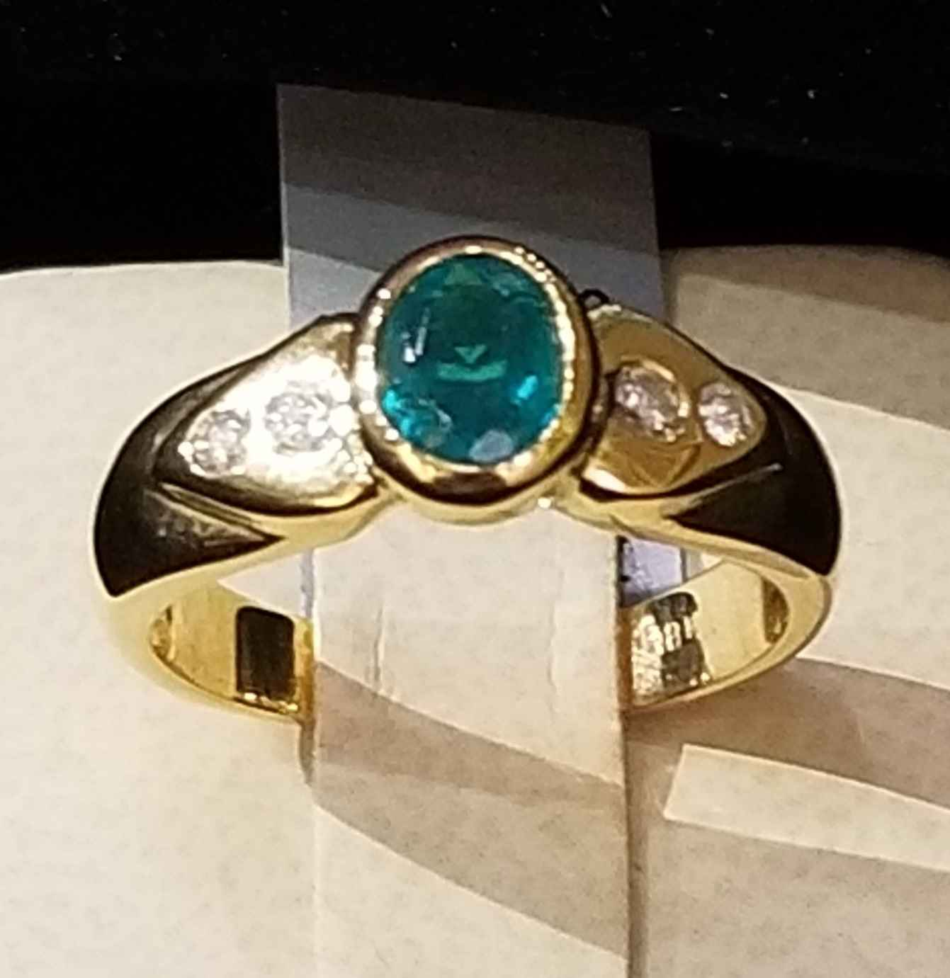 Emerald Ring - YG by  My Jeweler - Masterpiece Online
