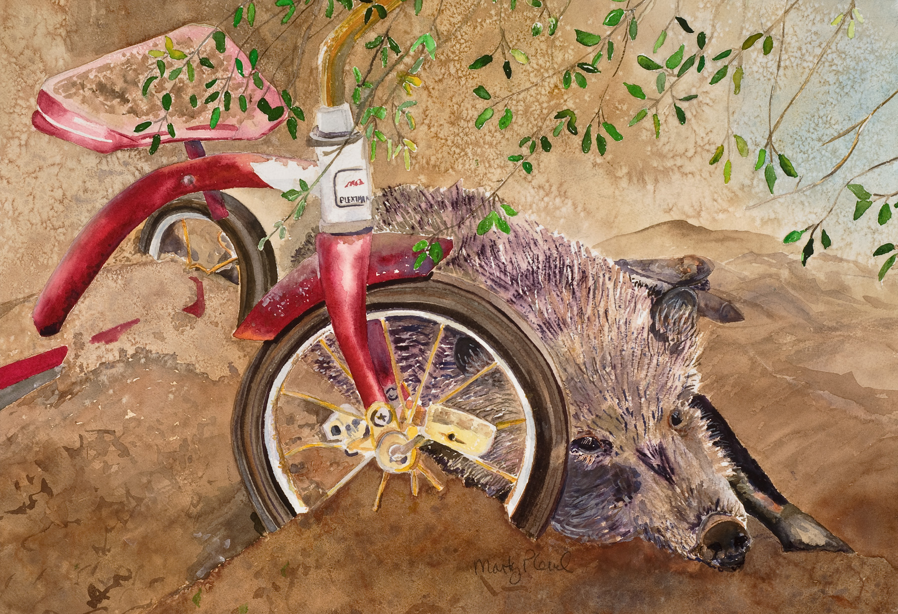 My Trike by  Marty Plevel - Masterpiece Online