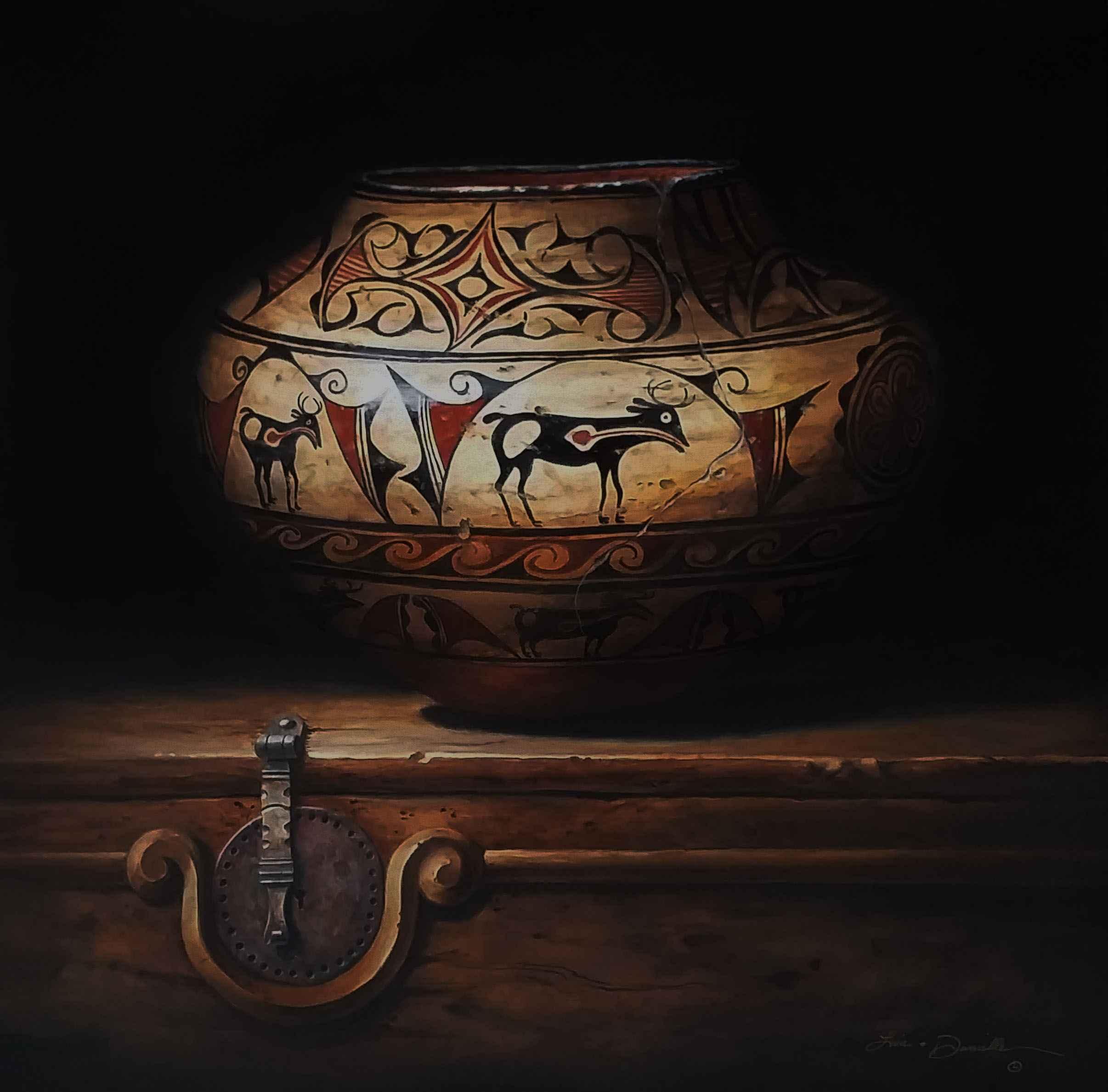 Pueblo Patriarch-Zuni by  Lisa Danielle - Masterpiece Online