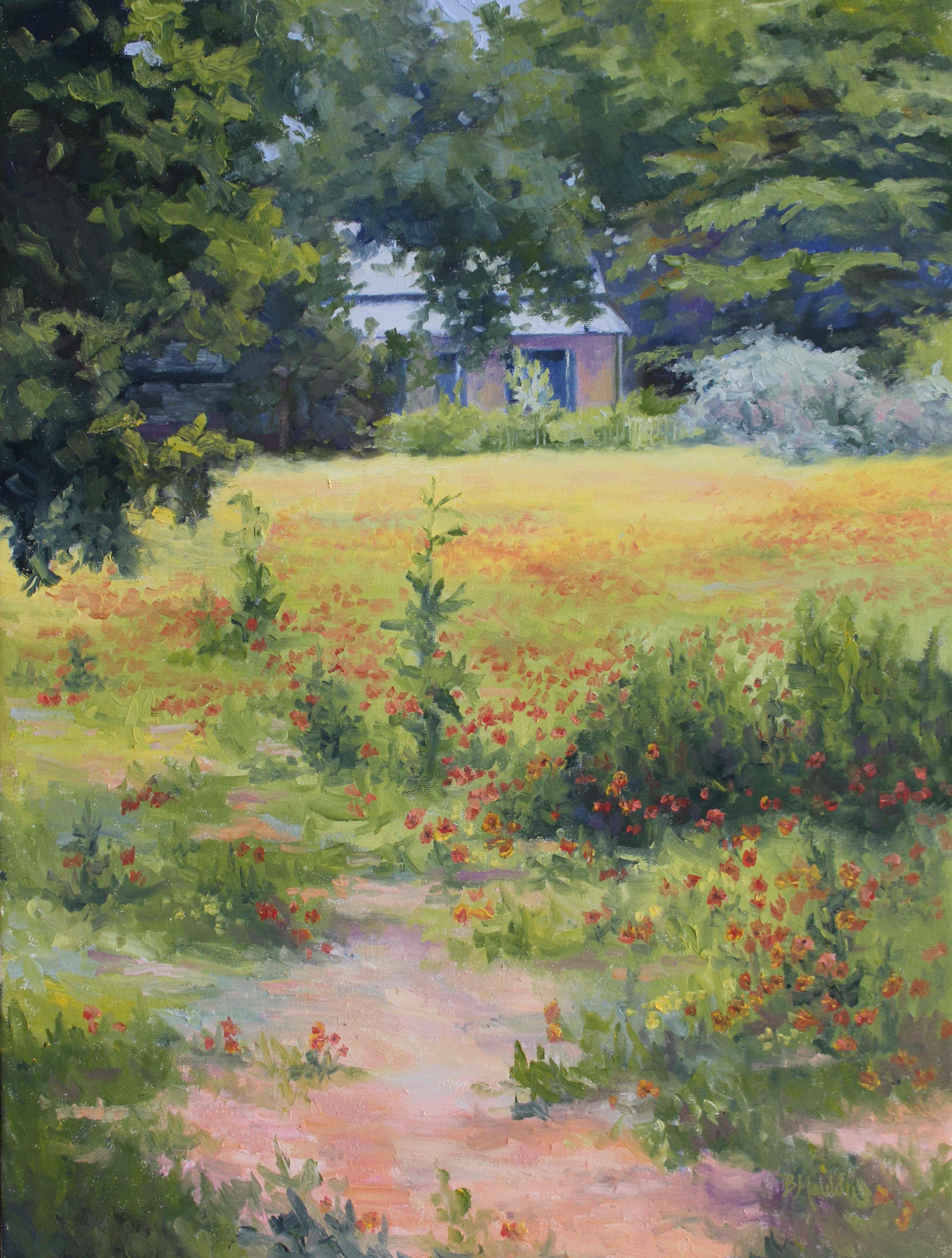 Spring Garden by  Barbara Mauldin - Masterpiece Online