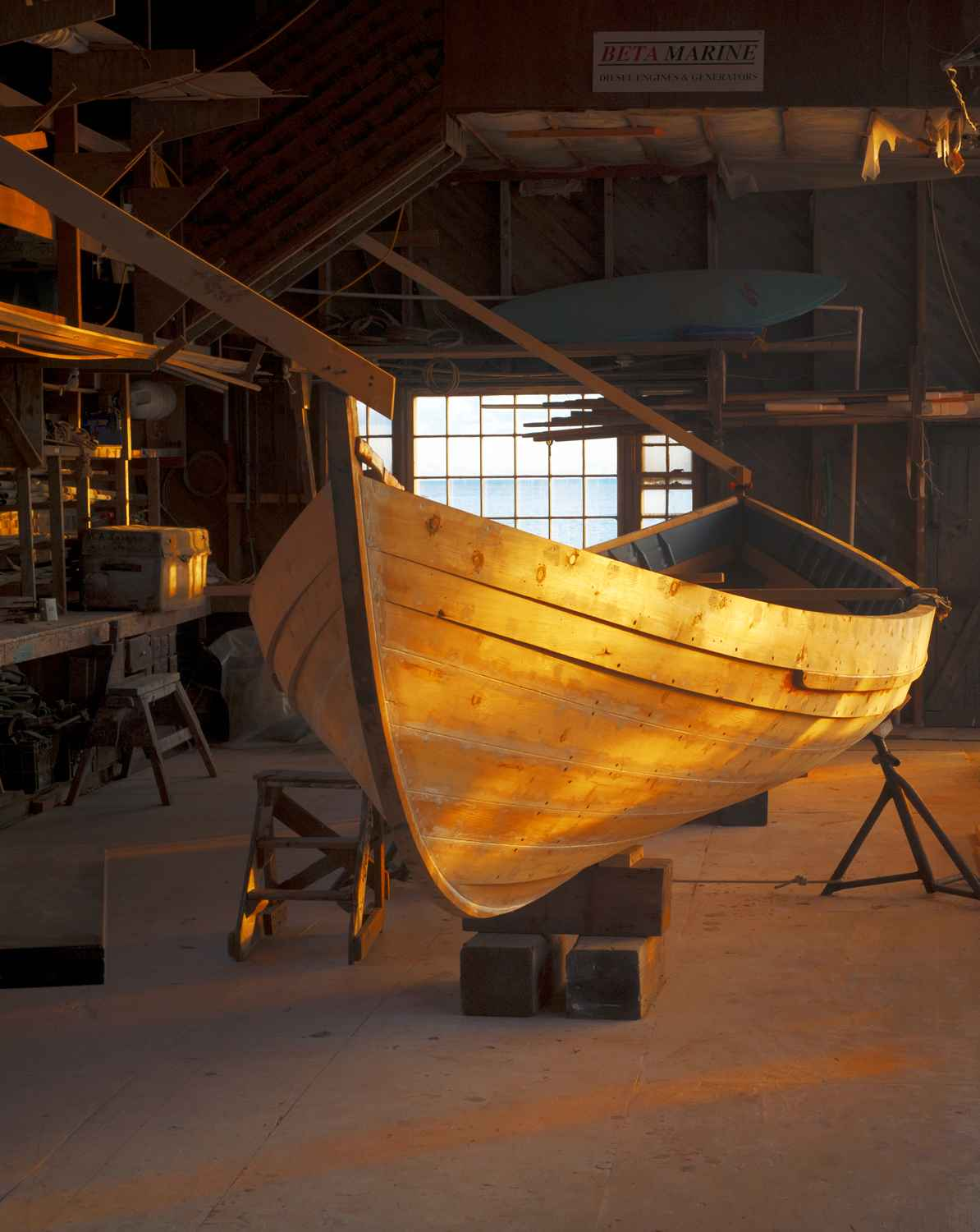 Whaleboat, Gannon & B... by  Alison Shaw - Masterpiece Online