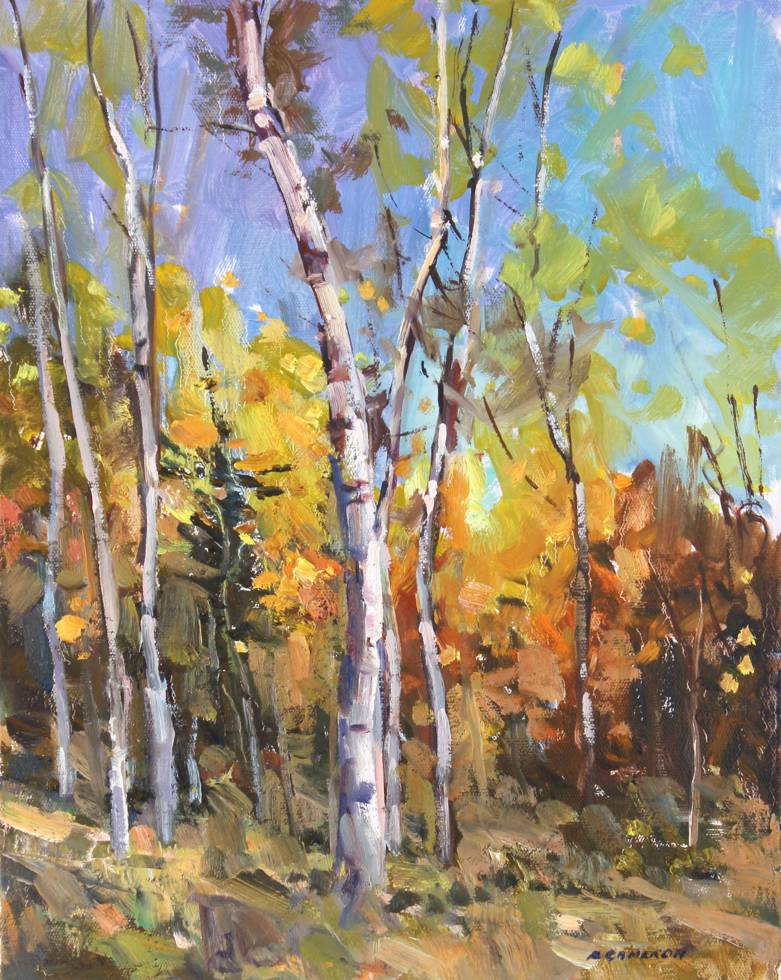 Fall Foothills by  Fred Cameron - Masterpiece Online