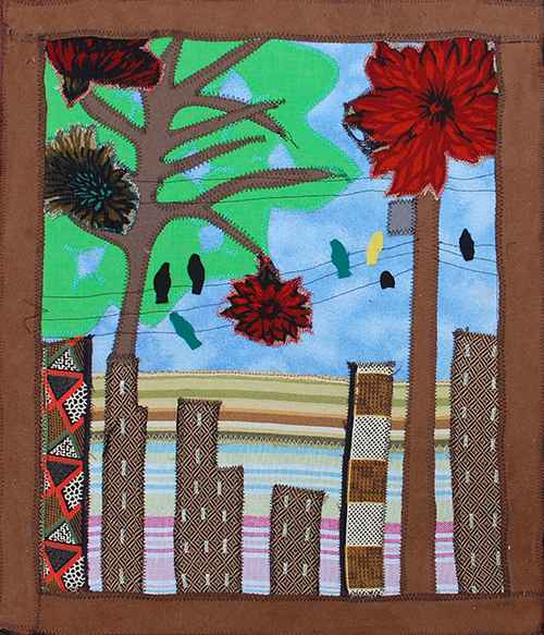 City Trees by  Jacqueline PIERRE - Masterpiece Online