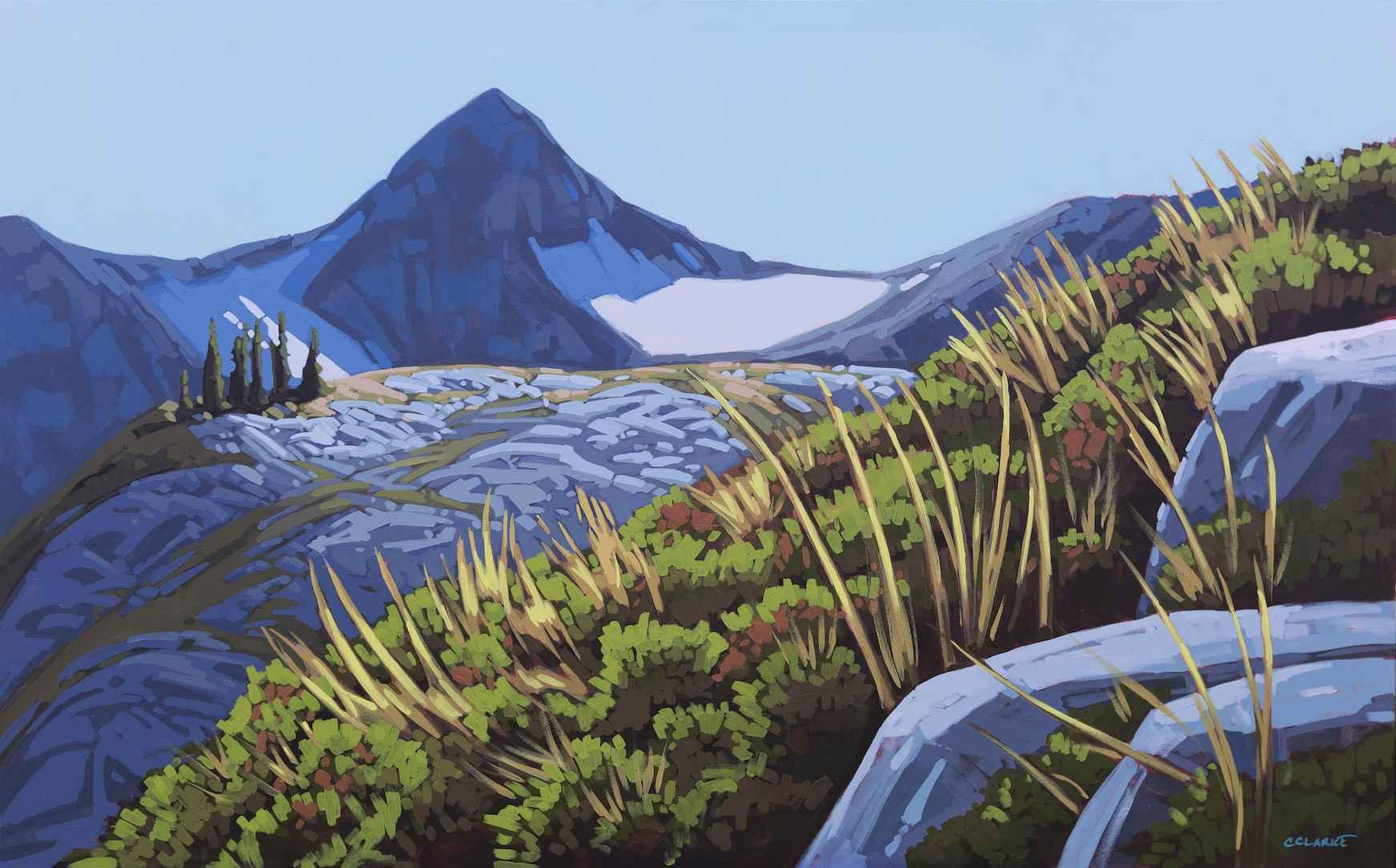 Alpine Highlights by  Christina Clarke - Masterpiece Online