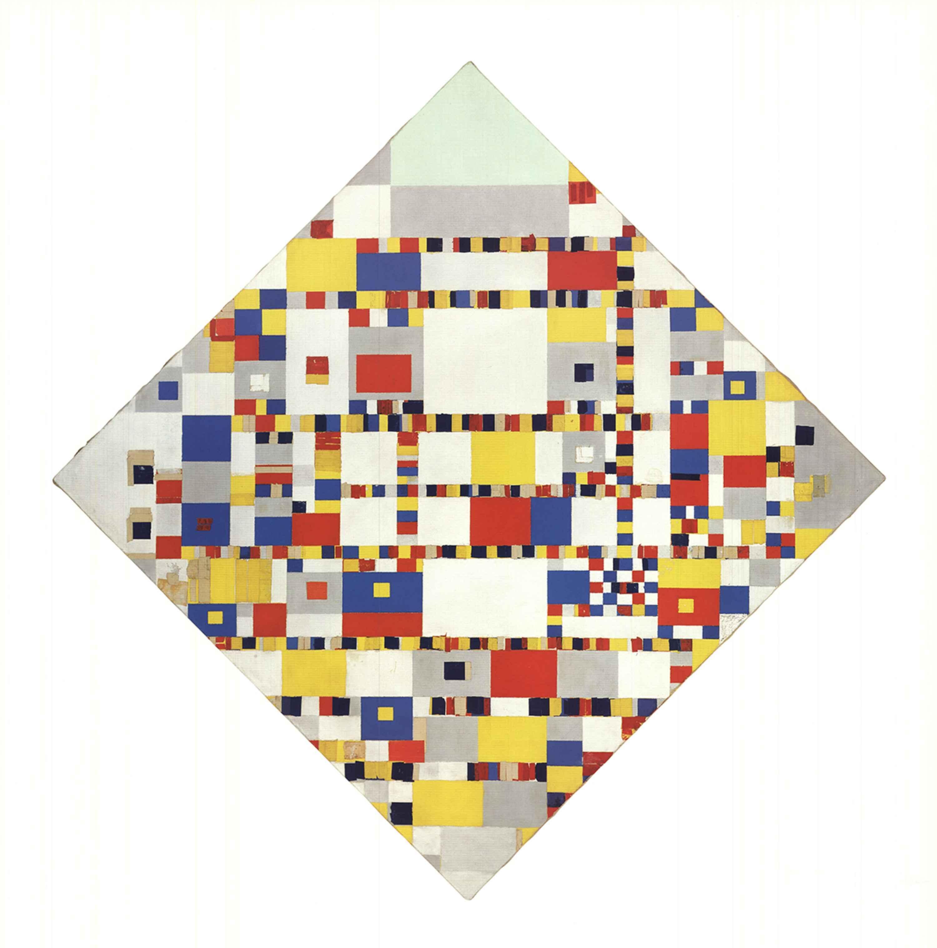 Victory Boogie Woogie by  Piet Mondrian - Masterpiece Online