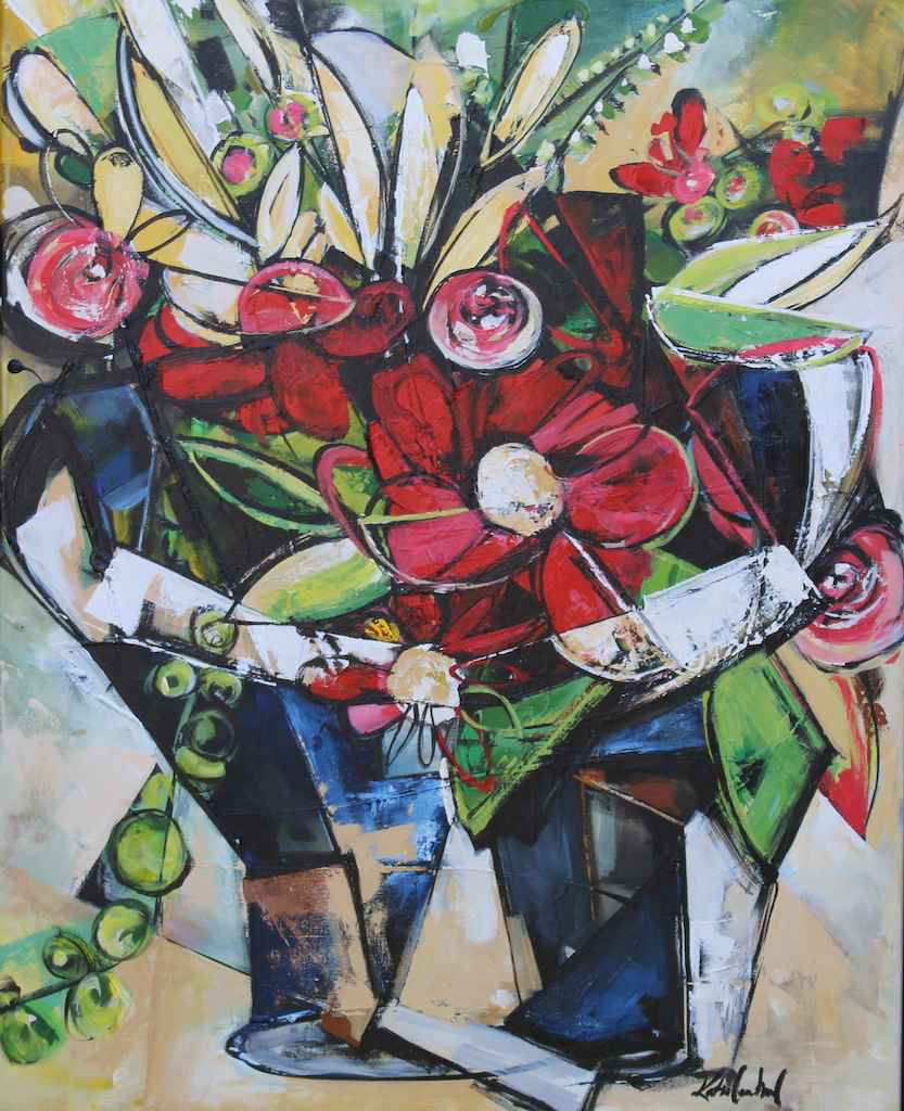 Mother's Flowers by  Katie Leahul - Masterpiece Online