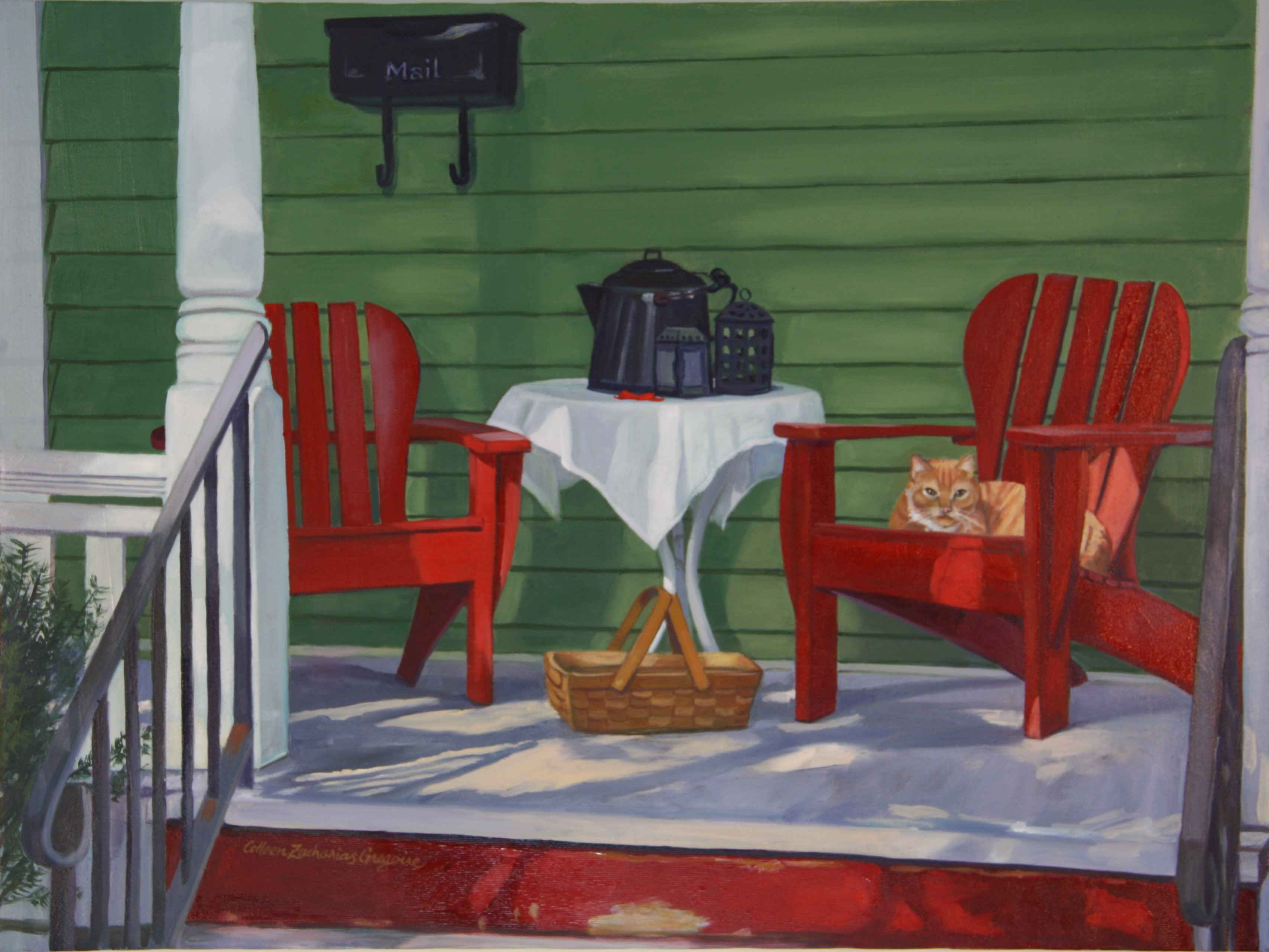 Catnap Porch  by  Colleen Gregoire