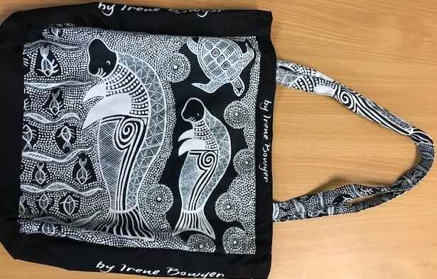 Bag -Dugong by Ms Irene Bowyer - Masterpiece Online
