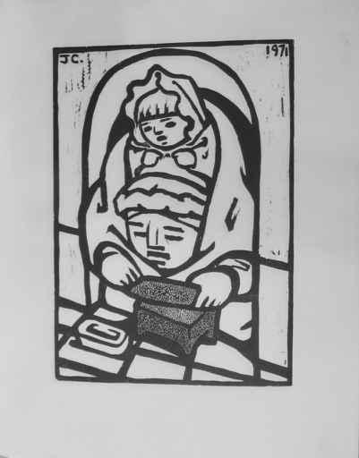 Tortillera by  Jean Charlot (1898-1979) - Masterpiece Online