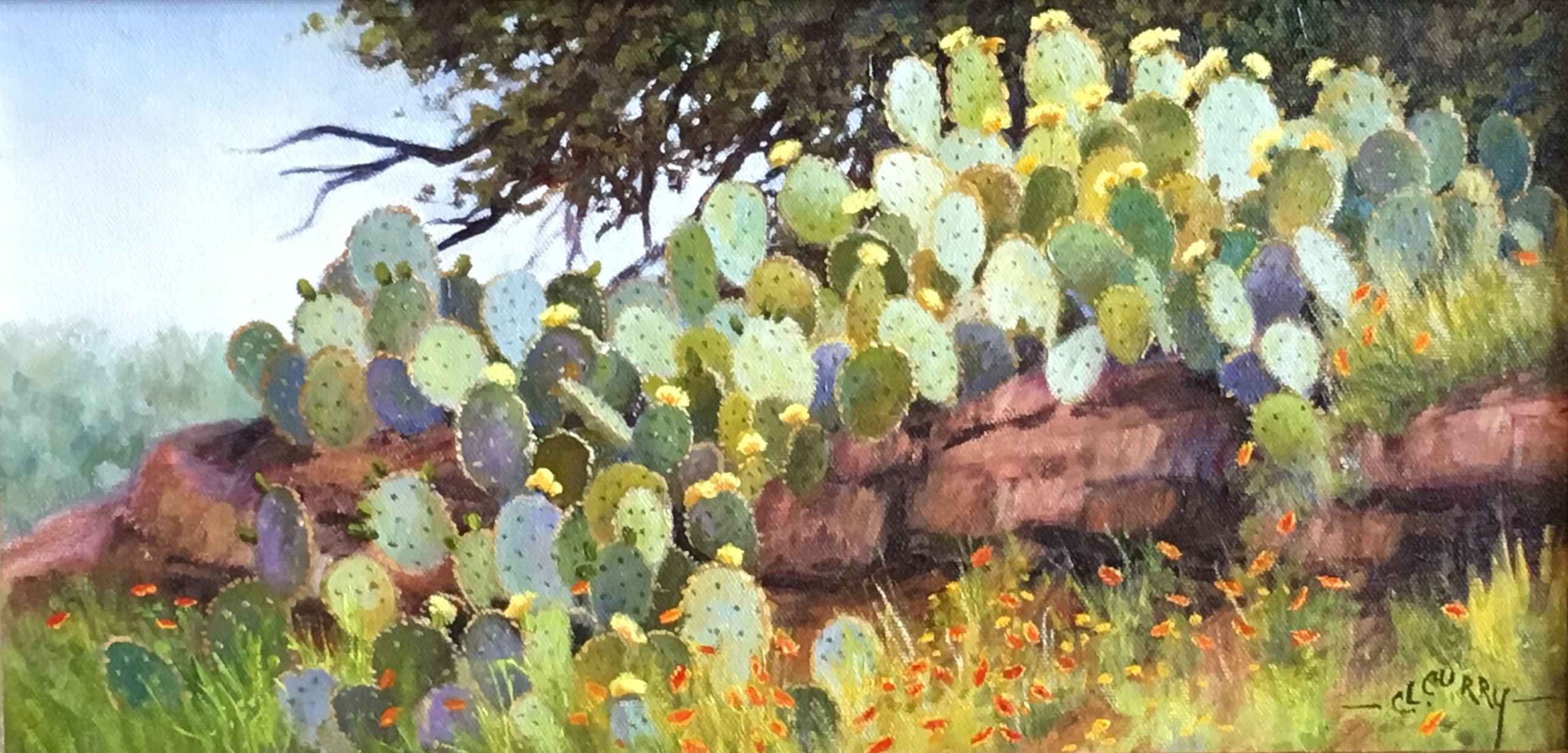 Cactus Cascade by  Charlotte Curry - Masterpiece Online