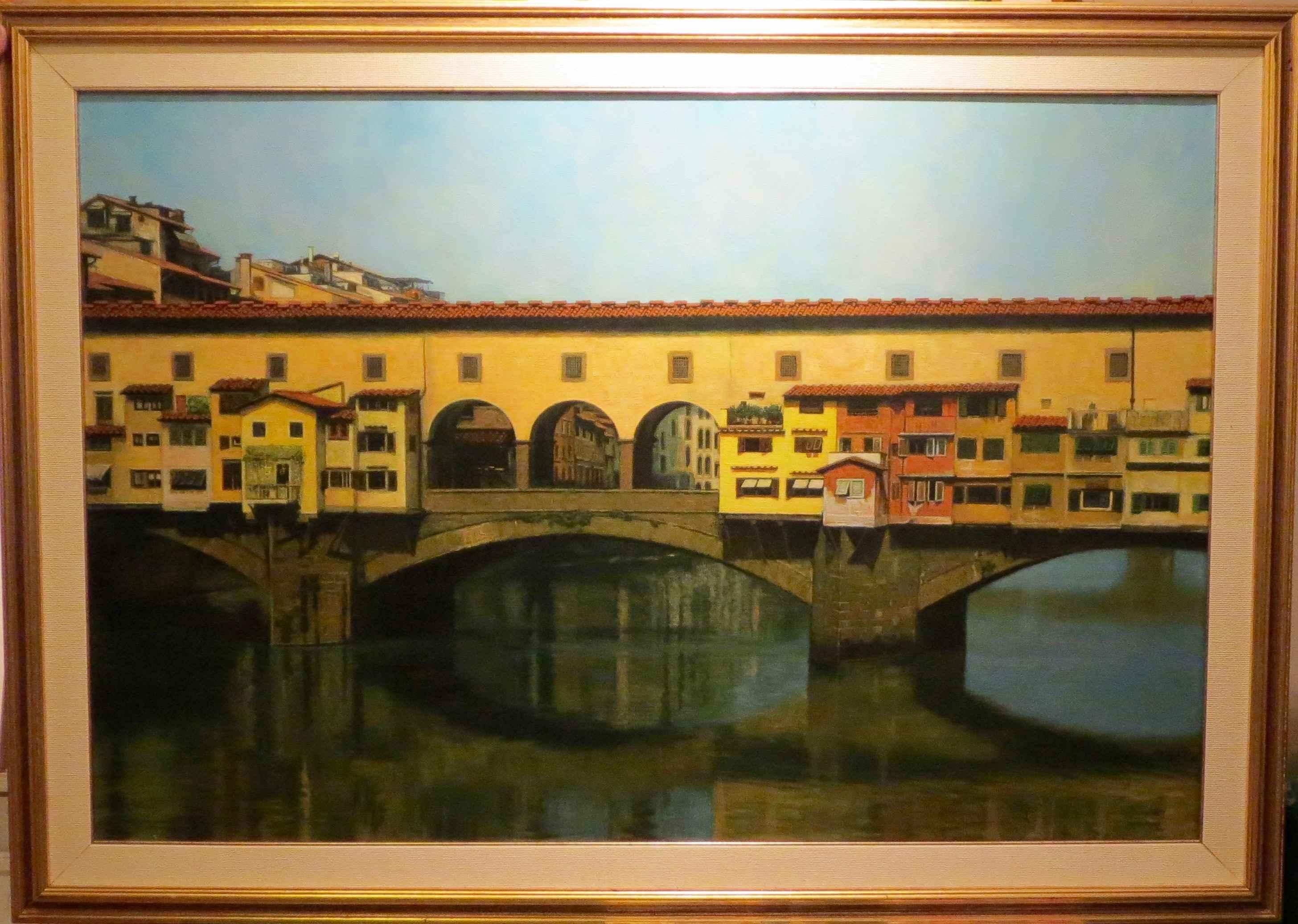 Ponte Vecchio by  Edwin B. Kayton - Masterpiece Online